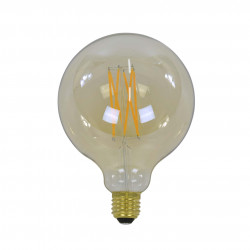 Filament LED žiarovka 84-67 Ø12,5cm Amber glass